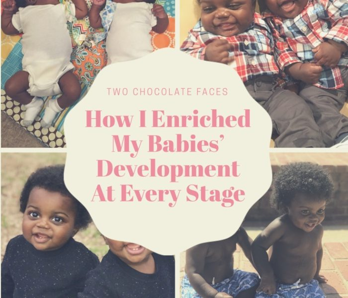 How I Enriched My Babies' Development At Every Stage