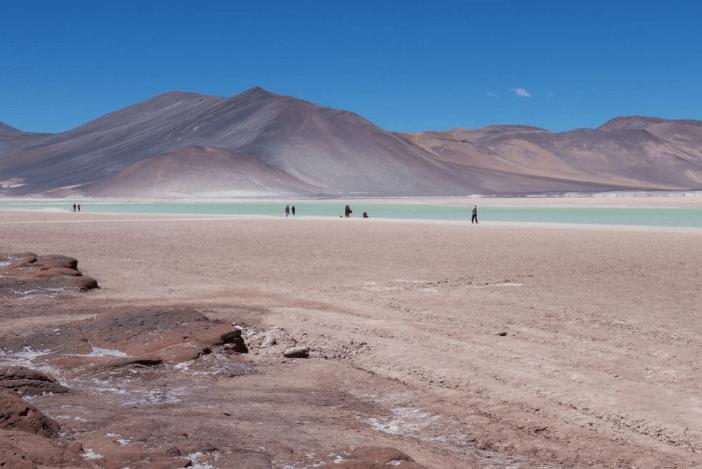 El Desierto de Atacama tiene cerca de 1600 km de extensión.