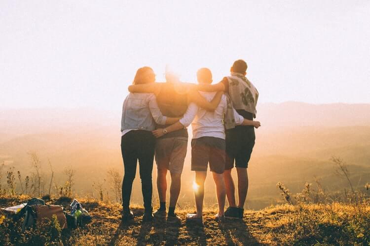 Razones para tener un amigo extranjero