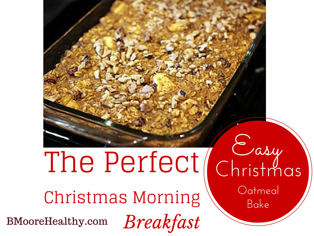 Easy Christmas Oatmeal Bake-2