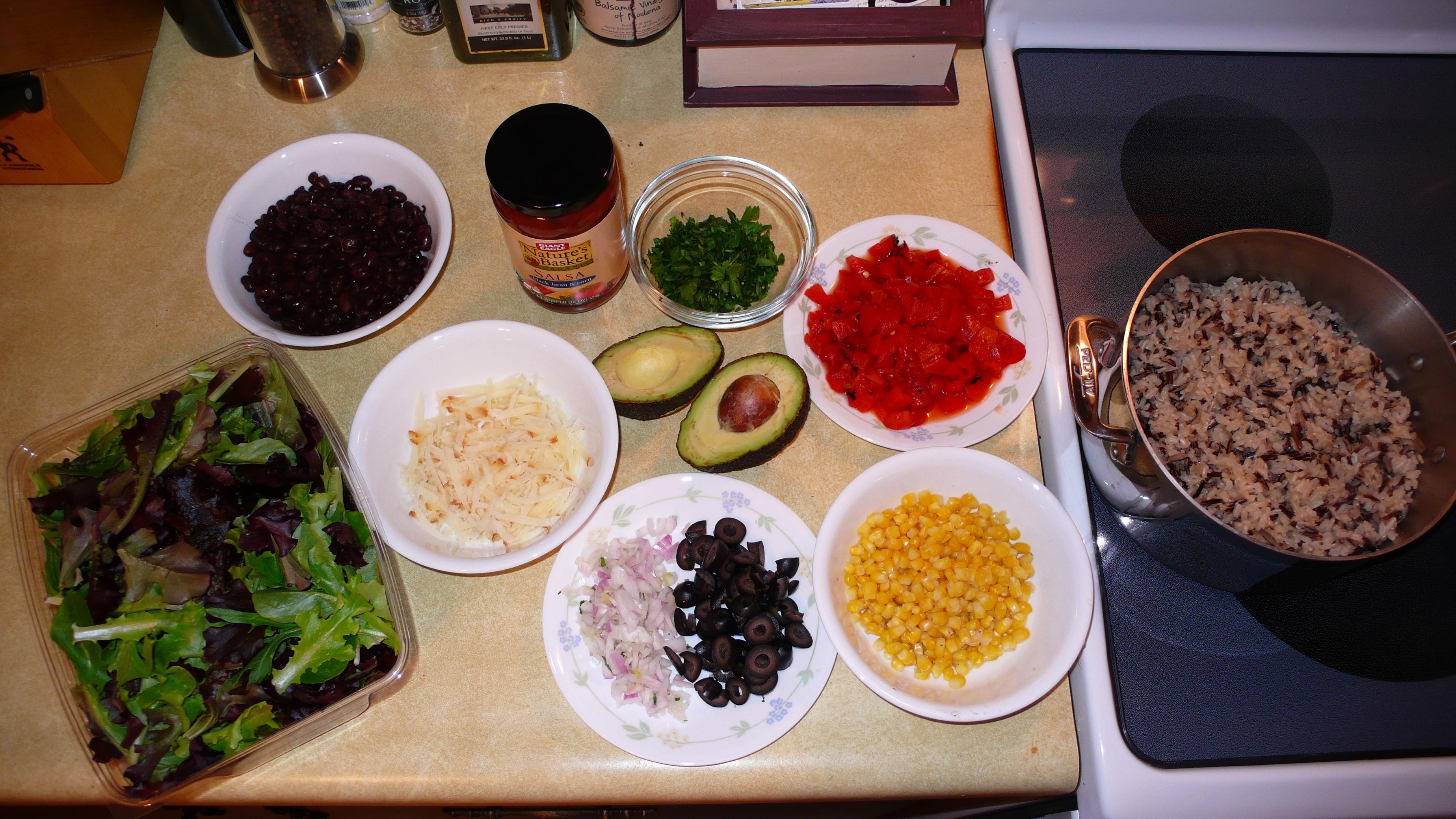 Homemade Burrito Bowl? Yes Please!