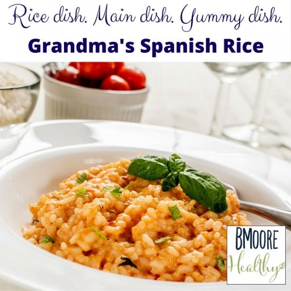 Rice dish. Main dish. Yummy dish.