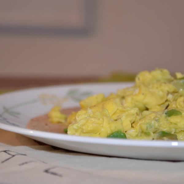 Avocado Scrambled Eggs: Recipe 1 of 12