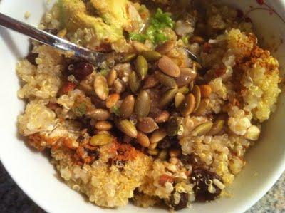 Salty Sweet Breakfast Quinoa: Recipe 3 of 12