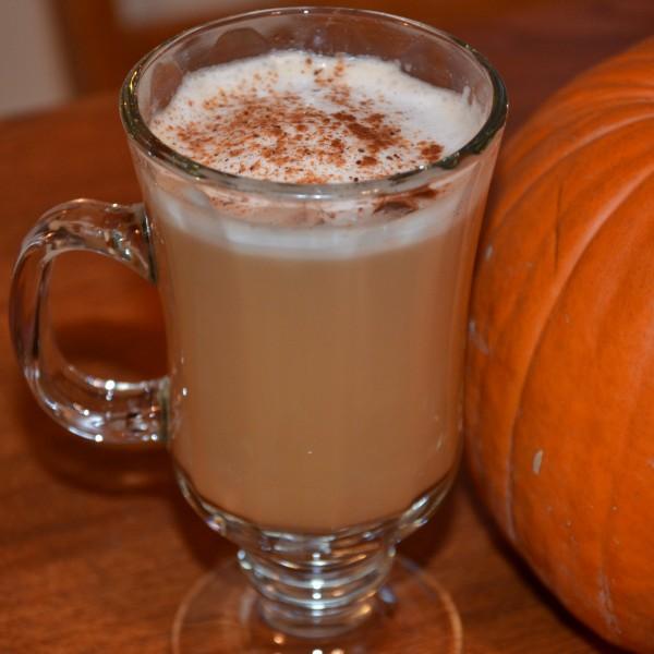 Pumpkin Spice Latte. Minus $4.