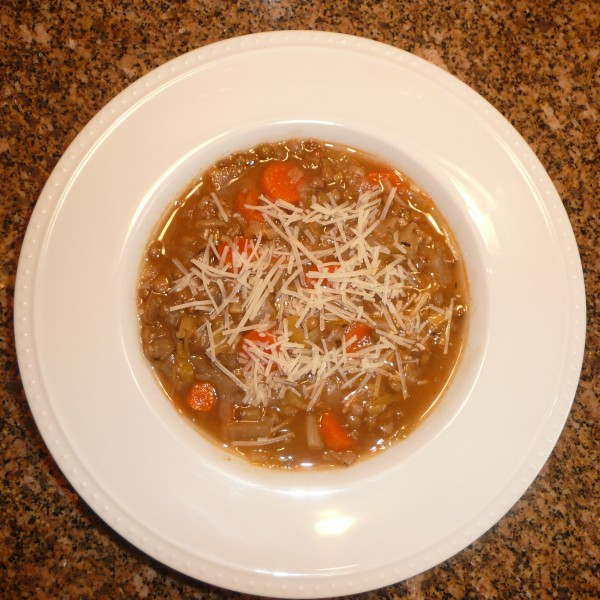 Lentil Vegetable Soup: Recipe 9 of 12