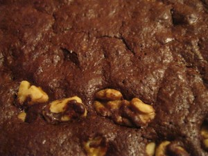 Dark Chocolate Flourless Brownies: Recipe 12 of 12