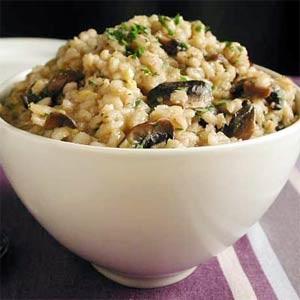 Mushroom and Barley Risotto: Recipe 6 of 12