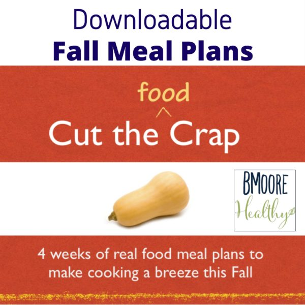 Downloadable Fall Meal Plans Now Available!