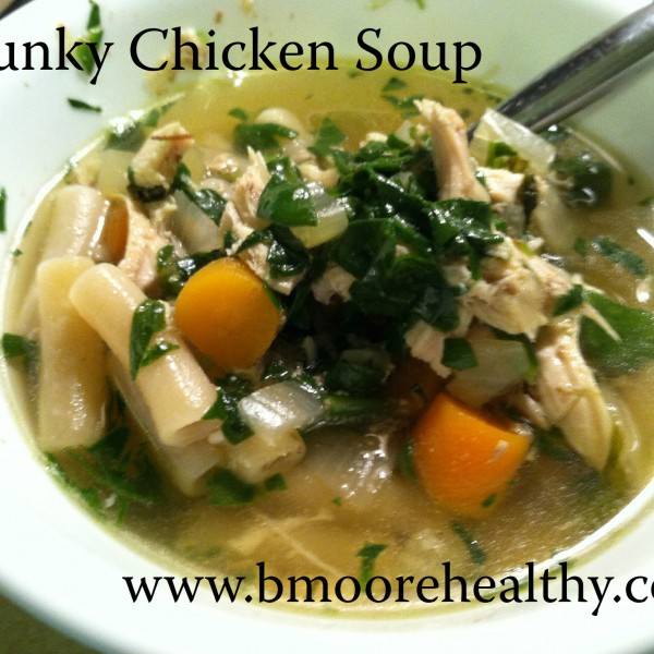 "Chicken soup for the ""worrying mama's"" soul."