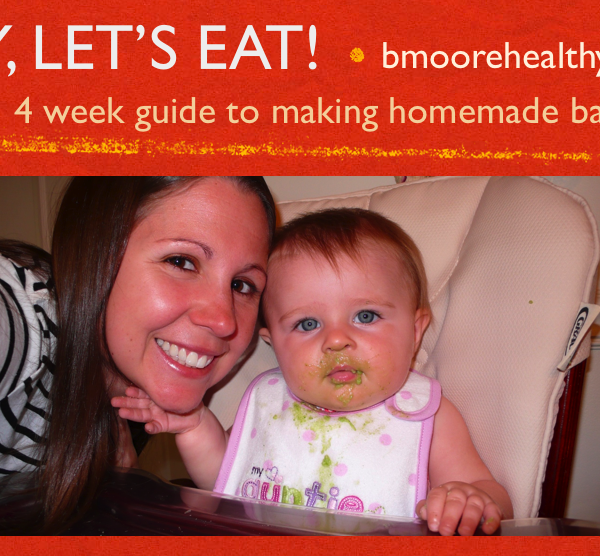 Learn how to make homemade baby food September 2014