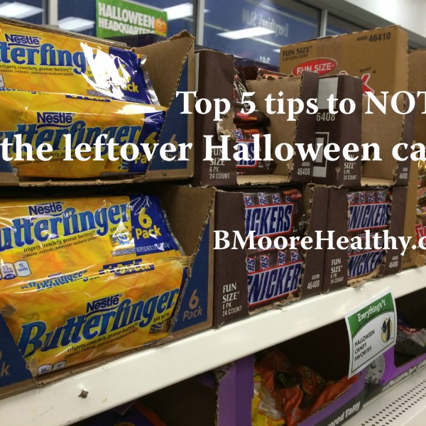 Top 5 tips to NOT eat all the leftover Halloween candy. Yes, you can do it.