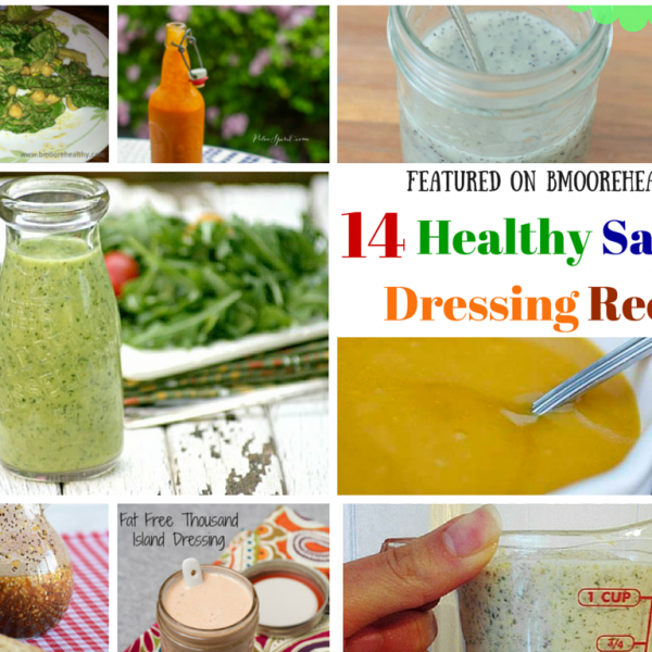 Healthy Recipes Roundup – 14 Salad Dressing Recipes