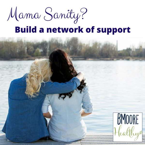 Build a network of support