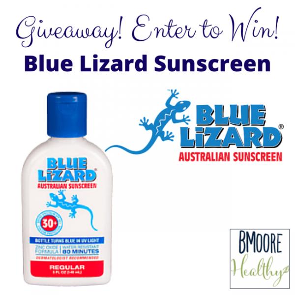 Blue Lizard sunscreen giveaway