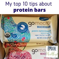 My top 10 tips about protein bars