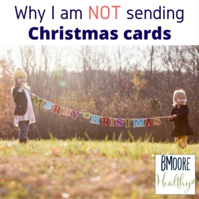 Why I am not sending Christmas cards