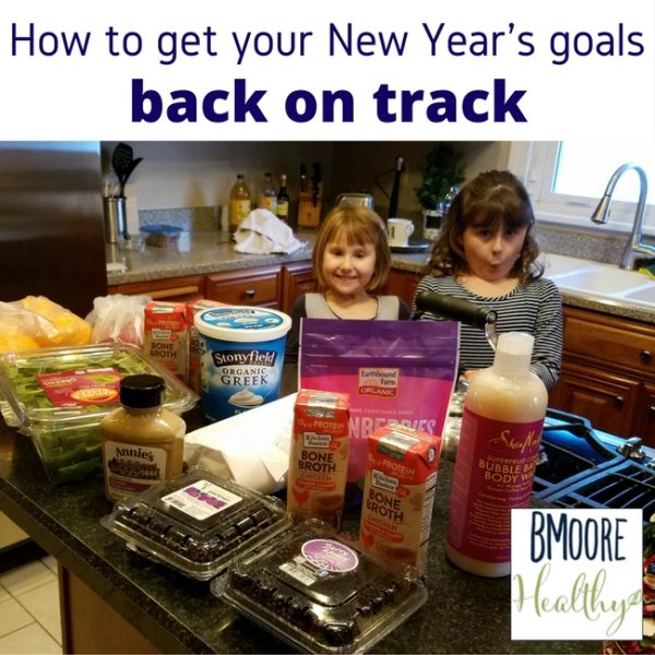 How to get your New Year's goals back on track