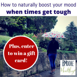How to boost your mood and win a boutique gift card!