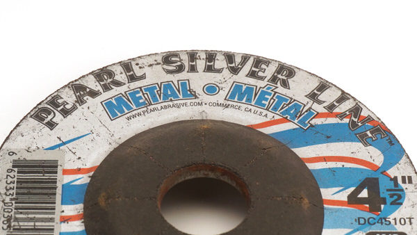 Pearl Silver Line™ 4-1/2″ x 1/4″ x 7/8″ AO Depressed Center Wheels, A24R, 25/Box