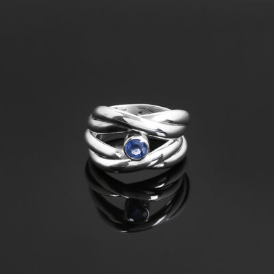 sapphire wrap ring upload