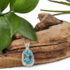 Dyer blue turquoise necklace 3