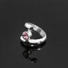 pink tourmaline spiral ring 2