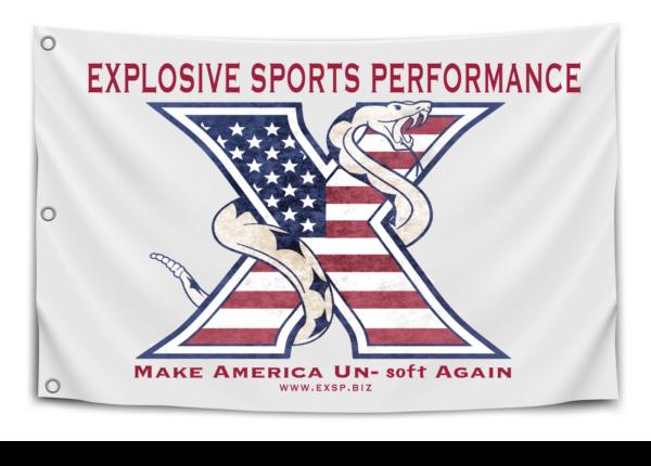 EXSP Make America Un-Soft Again Flag