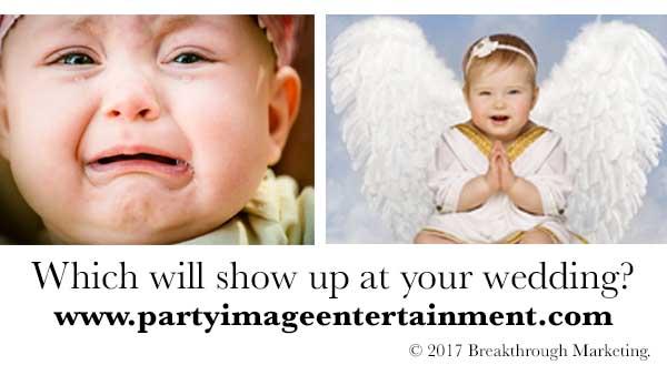 babies at weddings