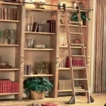 Bookcases_w-Ladder