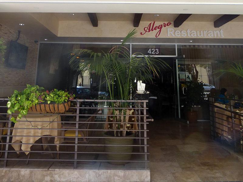 Alegro Restaurant
