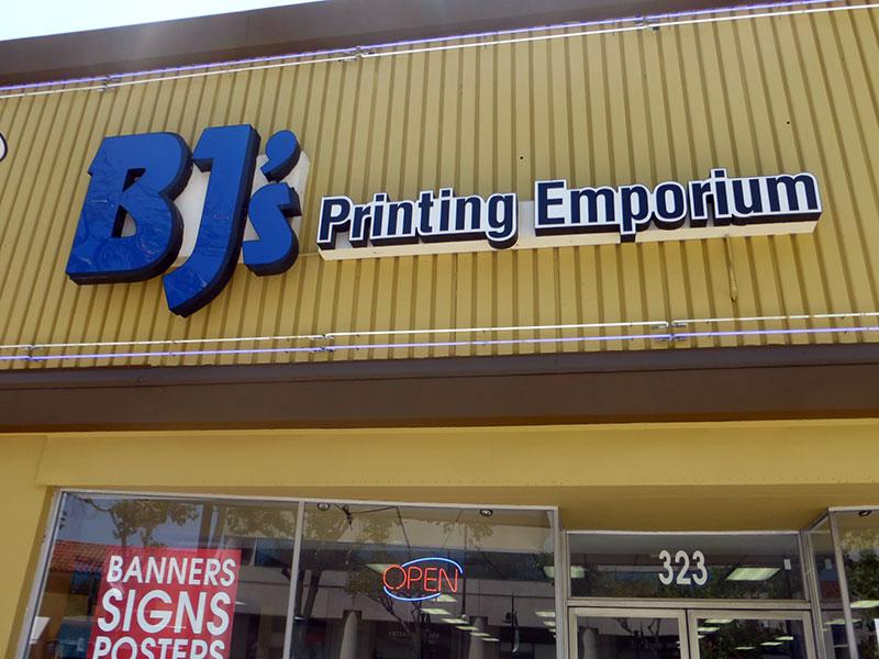 BJ's Printing Emporium