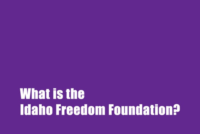 Idaho Freedom Foundation and Wayne Hoffman