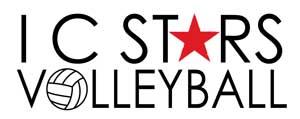 IC Stars Volleyball Logo