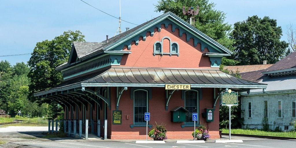 Chester VT Train Station