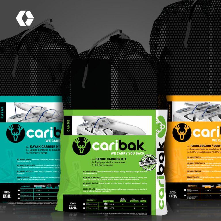 Caribak V2 Packaging Design