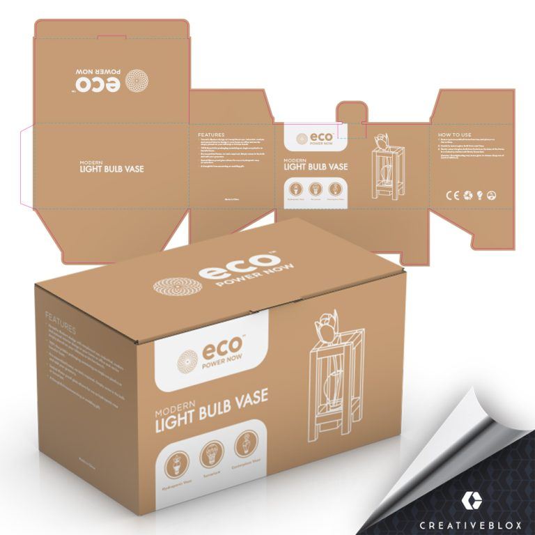 Packaging Mockup for Amazon