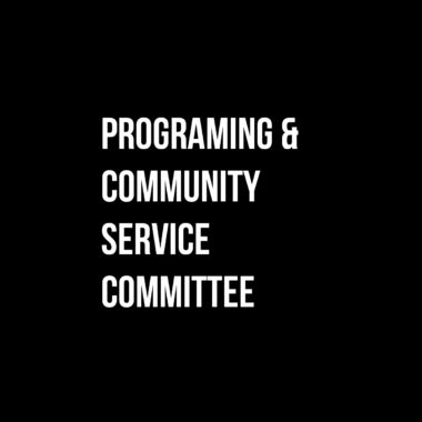 Programming & Community Service Committee