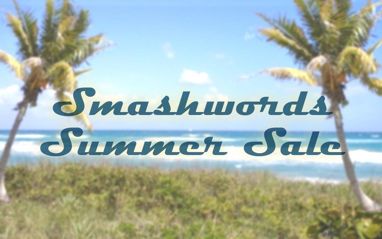 It's on again – Smashwords Summer Sale!