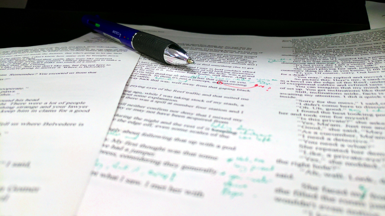 Editing – Ugh… Do I have to?