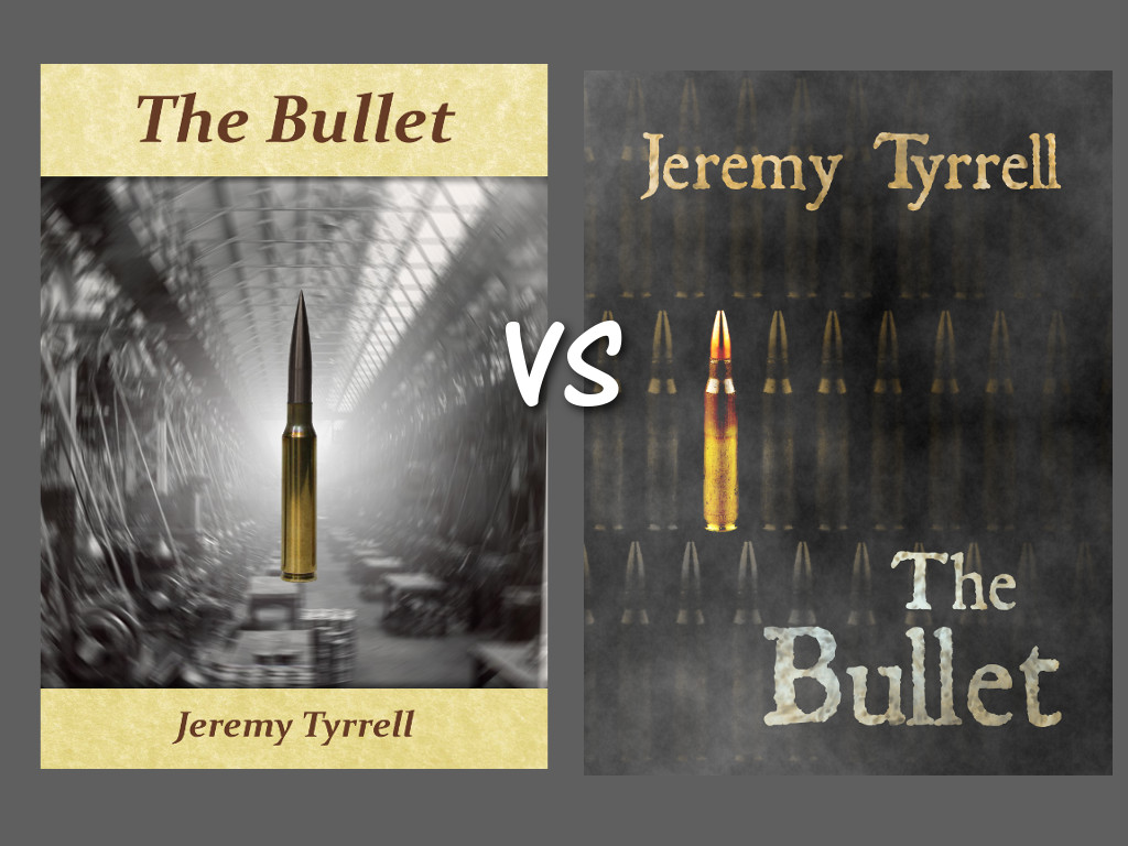 The Bullet old cover and new cover art