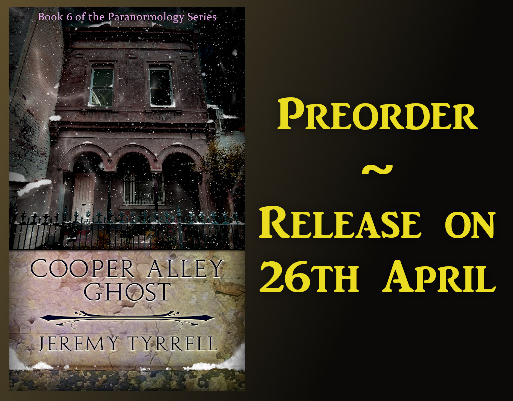Cooper Alley Ghost – Preorder