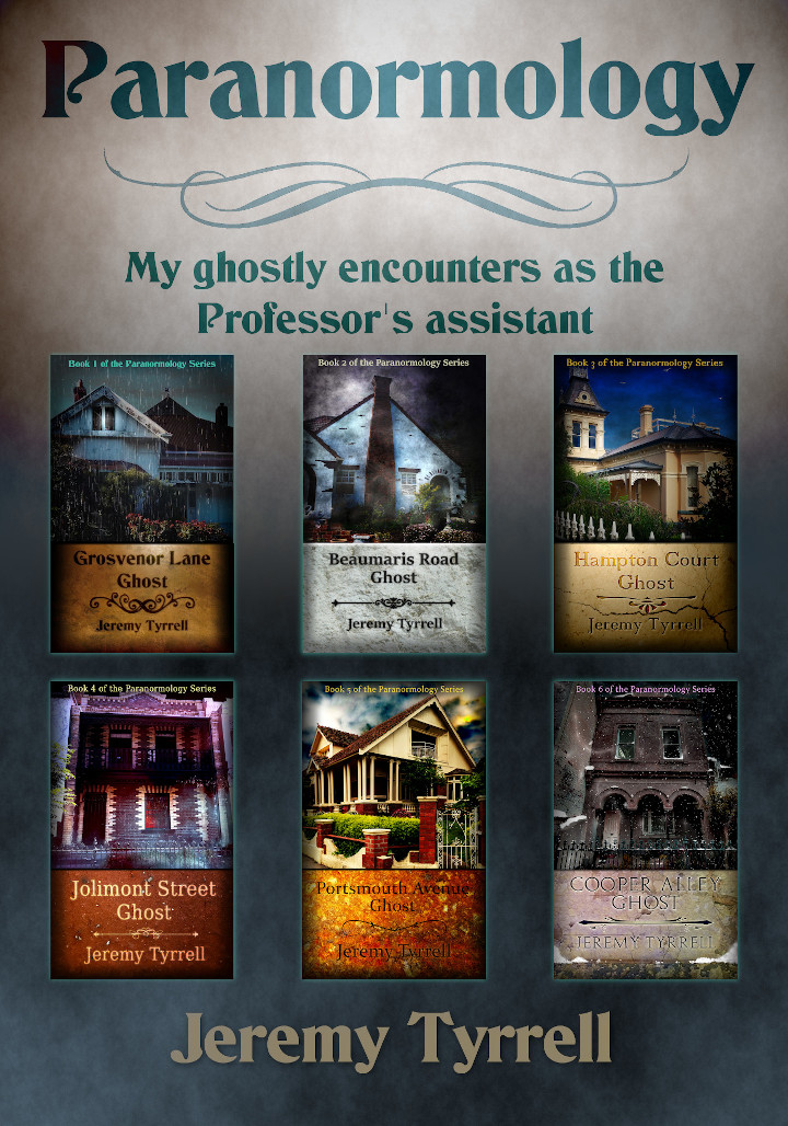 Paranormology Series of six books
