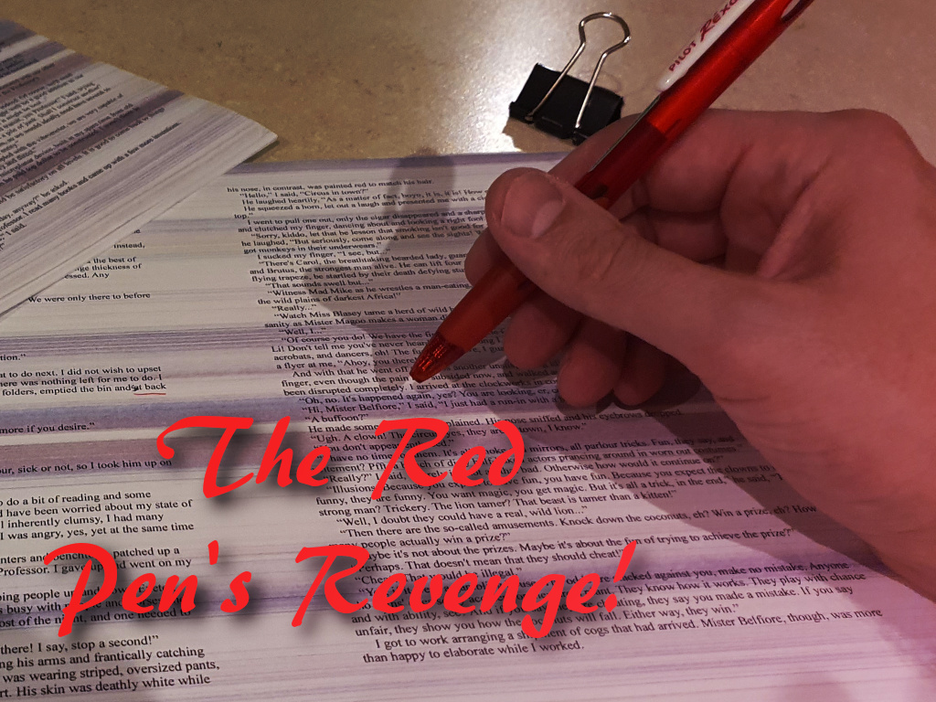The Red Pen's Revenge