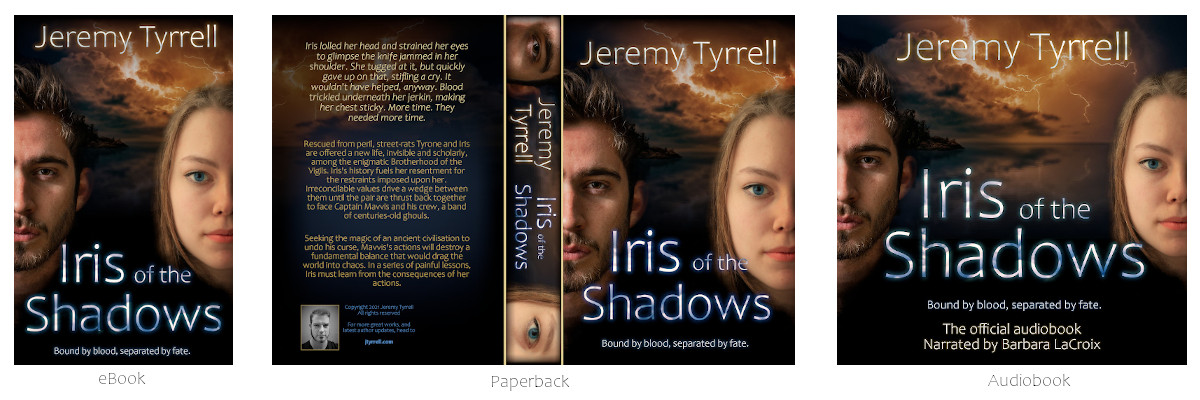 Iris of the Shadows – Covers