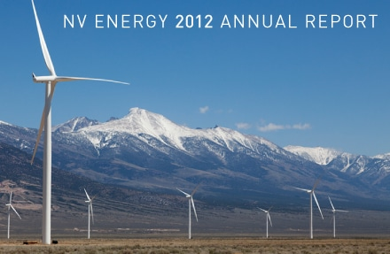NV Energy Annual Report - 2012