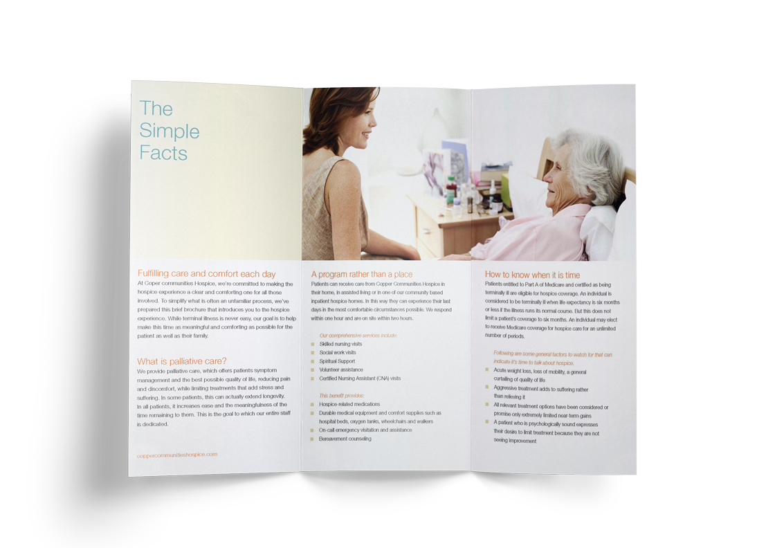 Community Hospice - Brochure Design