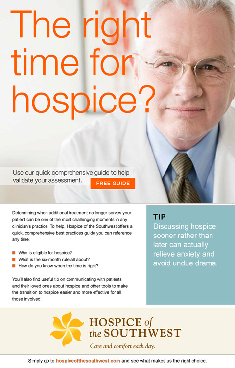 Community Hospice Email Design