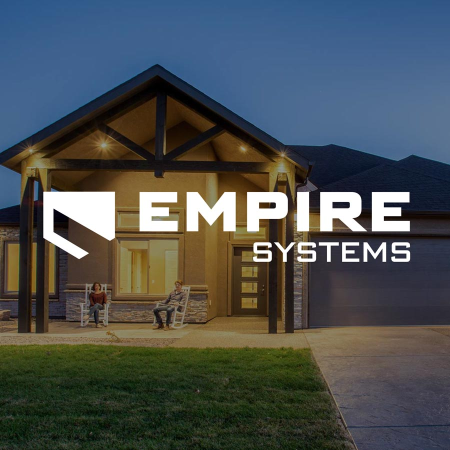 empire branding and website design