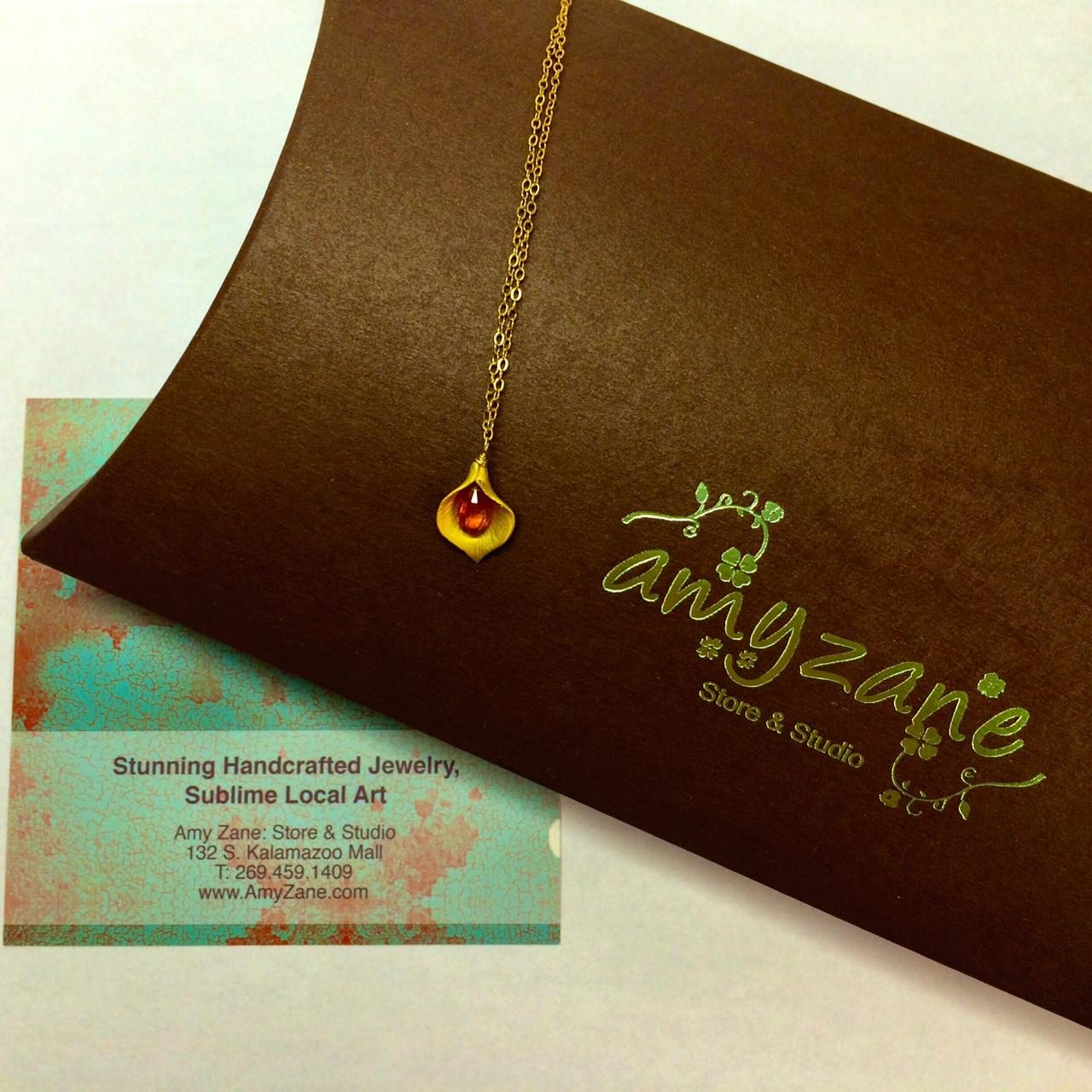 Necklace by Amy Zane